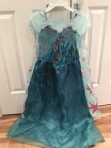 Elsa summer Frozen dress size 7-8