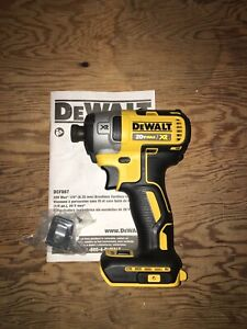 Dewalt 20 volt XR Brushless 3 speed Impact Driver