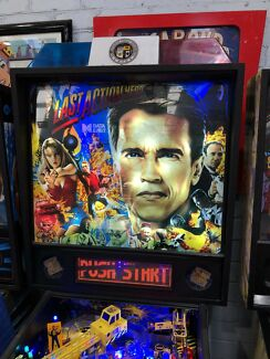 Last action hero pinball machine by data east with LEDs