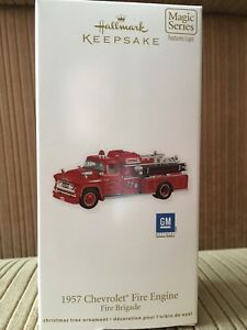 1957 Chevrolet Fire Engine Christmas Ornament