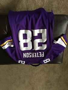 Peterson official nfl jersey
