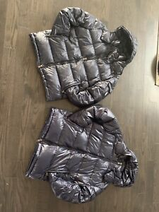 $300 navy blue MONCLER MAYA small or medium