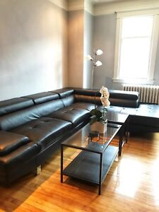 Well lit, renovated one bedroom apartment in NDG