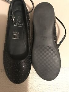 Girl's fille Gucci shoes soulier
