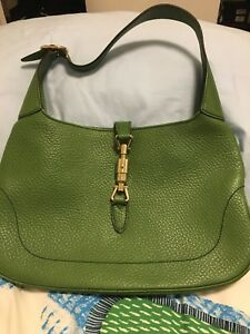 Authentic Gucci Jackie O bag .