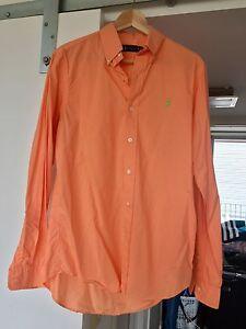 Ralph Lauren long sleeve orange shirt Waterloo Inner Sydney Preview