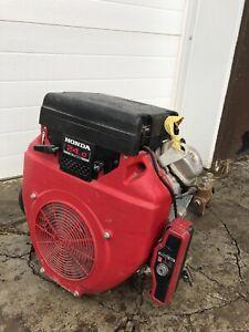 Honda engine V twin 24 hp/ Haldex Barnes 2 stage hydraulic pump
