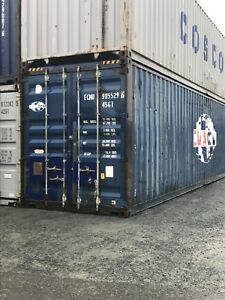 40' HC and 40' STORAGE CONTAINERS SHIPPING CONTAINER SEA CAN