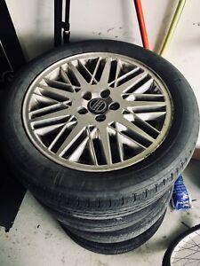 Jantes volvo s40 et pneu