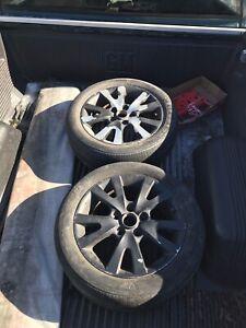 2 Mazda wheels