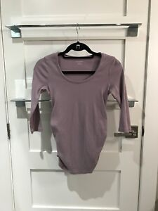 Maternity Jersey Knit Tops – size XS and S