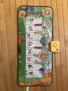 Musical dance mat