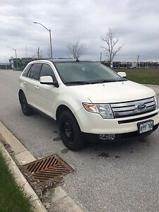 White Ford Edge limited edition