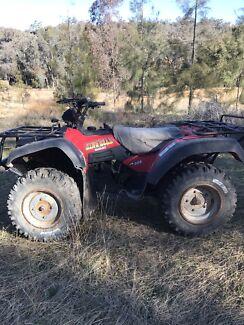 Suzuki king quad 300 4x4 farm quad