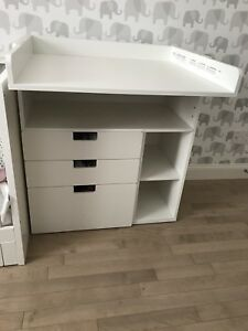 IKEA Stuva changing table with drawers!