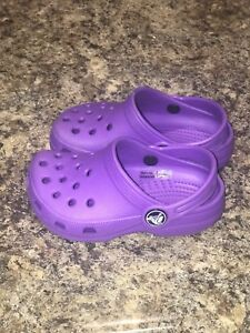 Toddler girls Crocs