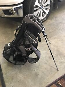 Golf bag and pull cart