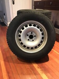 Pirelli Winter Tires on Rims