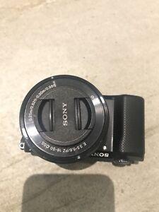 Black Sony A500 camera