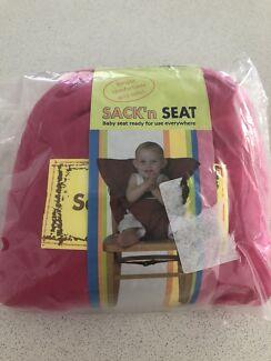 Travel high chair - sack n seat
