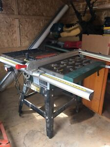 """Table Saw - Craftex 10"""""""