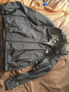 North face black wind jacket