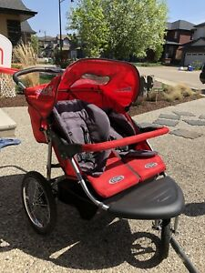 REDUCED Instep Double Running Stroller