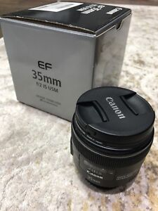 Like New Canon 35mm f/2 IS USM lens - $600 OBO