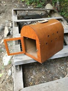 Vintage Cat Carrier
