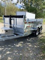 Dump trailer for hire or rent