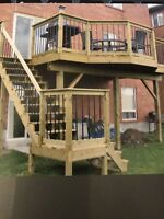 FENCES & DECKS  -  OVER  30  YEARS  EXPERIENCE