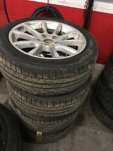 245/45/18 BMW and Pirelli Sottozero winter tires TPMS
