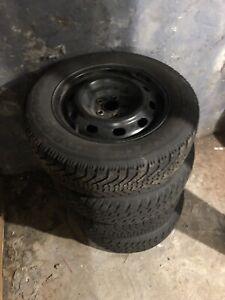15 inch  Goodyear snow tires for Ford Focus