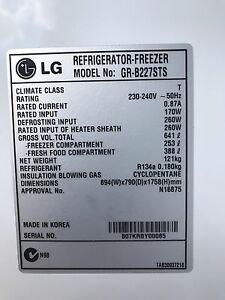 LG Refrigerator-Freezer Kealba Brimbank Area Preview