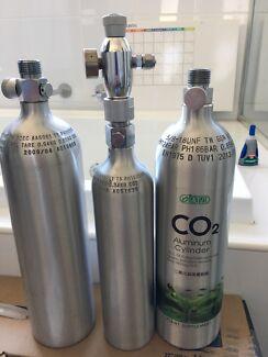 Aquarium Co2 Cylinders Perfect Condition X3