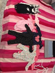 Newborn and premature baby girl clothes