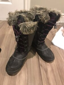 Winter boots and rain boots