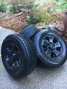 Toyota Tacoma winter tires and rims