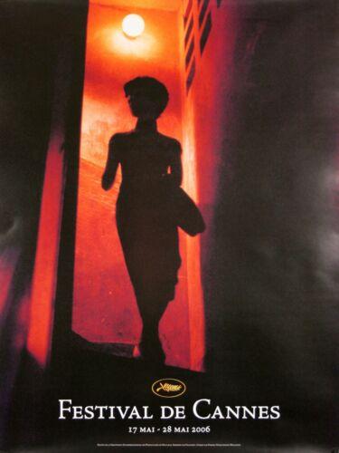 CANNES FILM FESTIVAL 2006 - ORIGINAL FRENCH POSTER - VERY RARE