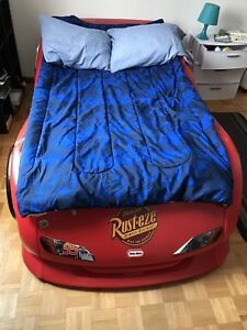 Lightning McQueen bed (Twin size)