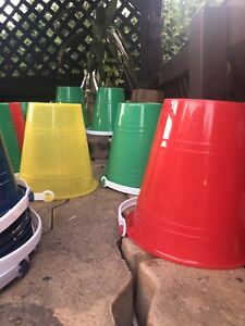 Lot de Chaudieres de plage -Beach bucket 5$