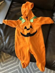 Pumpkin Halloween costume 0-3mths