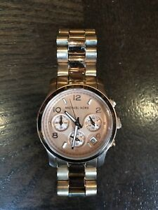 Montre Pink Gold MICHEAL KORS watch