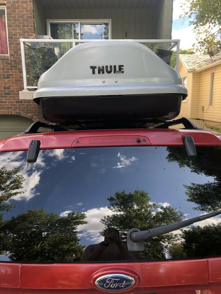 Thule Evolution 1600 Ski Rooftop Cargo Box Other Parts