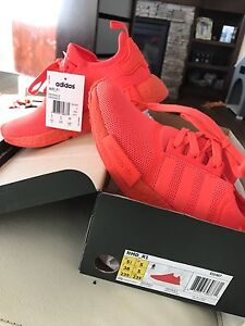 Adidas NMD R1, men size 5.5=lady 6.5
