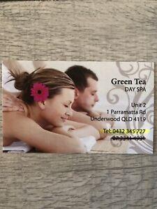 GreenTea massage