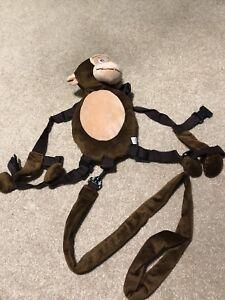 Monkey safety harness mini backpack