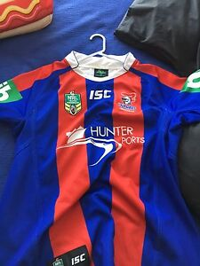 Knights and nsw jersey size L xl 2xl Edgeworth Lake Macquarie Area Preview