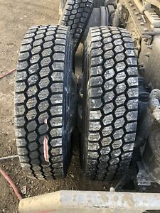 Semi truck & Trailer Tires on Sale 11r22.5 11r24.5