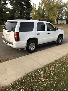 2011 CHEV TAHOE 2 WHEEL DRIVE EX RCMP UNIT IN EXC CONDITION